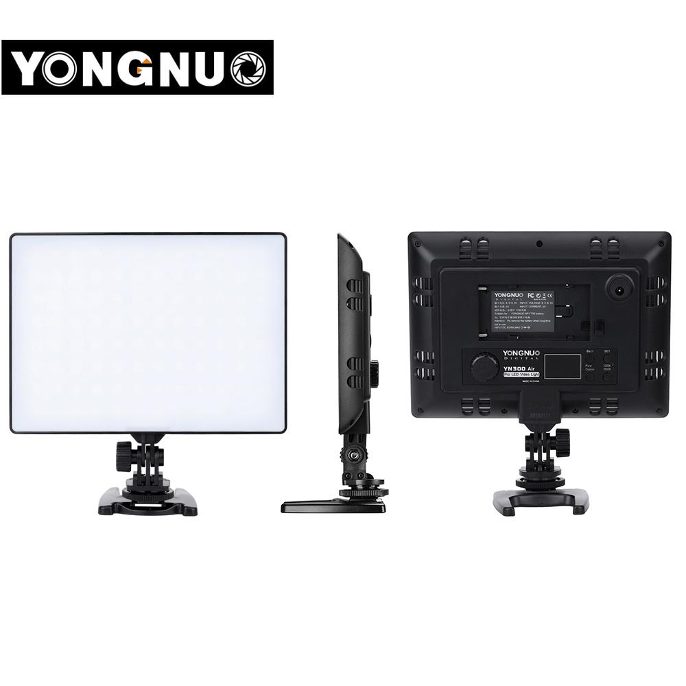 Original YONGNUO YN300 Air Led Video Light Photo Studio Light Camera Light Photography Lighting for Canon Nikon Pentax Sony Olympus YN300 Air