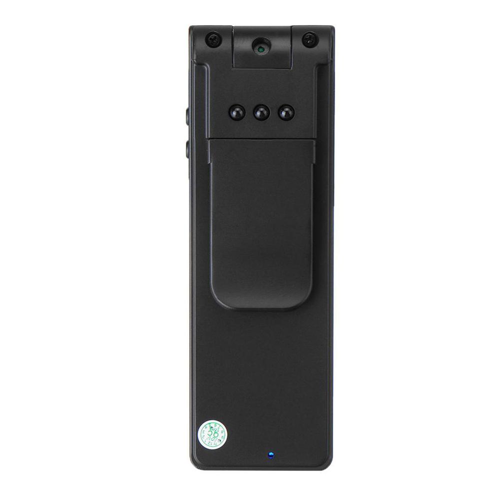HD 1080P Digital Video Camera Outdoor Sports Recorder Pen Camera DVR IR Night Camcorder black