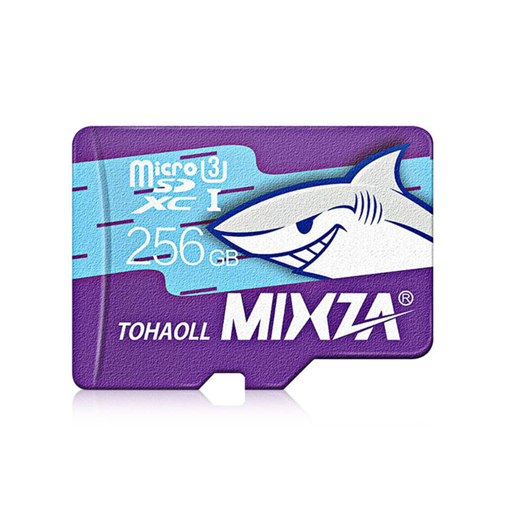 8G/16GB/32GB/64GB/128GB/256GB MIXZA Shark Edition Memory Card UHS-3 80MB/S USH-1micro SD Card Class10 Flash Card Memory Microsd