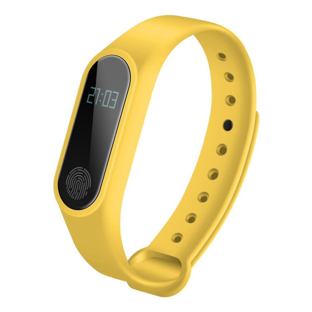 M2 Portable Sport Bracelet Yellow