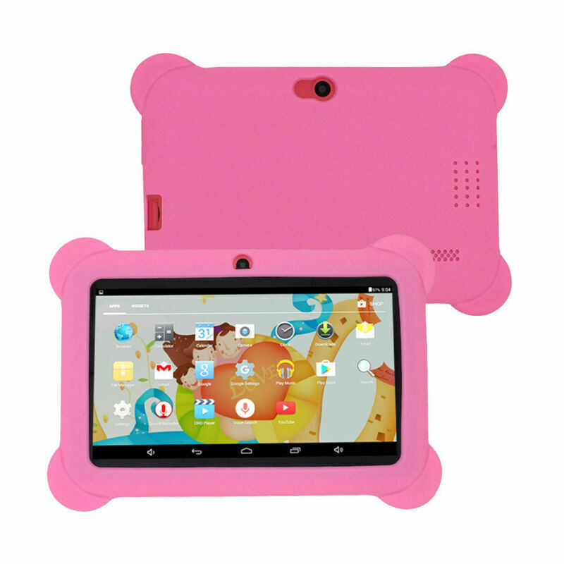 7-inch Children's Tablet Quad-core Android 4.4 Dual Camera Wifi Multi-function Tablet Pc Pink