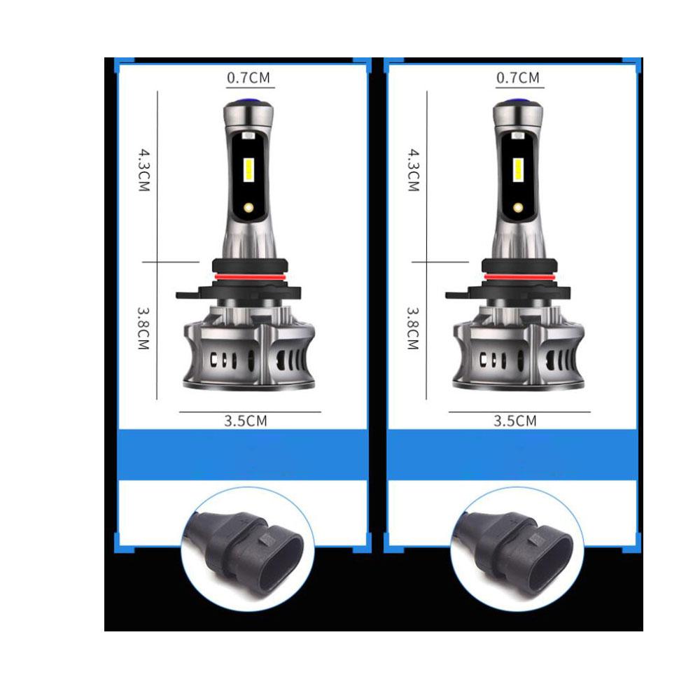 Car LED Headlight  XT7 Large-Sized LED Lamp Demon Eyes Running Lamp Retrofit  H4 H7 H11/H8  9005 9012 9006