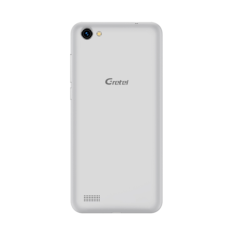 HK Warehouse Gretel A7 Android Phone - Android 6.0 OS, Gorilla Glass, 4.7 Inch Screen, MT6580 CPU, Dual SIM, 2000mAh (Silver)
