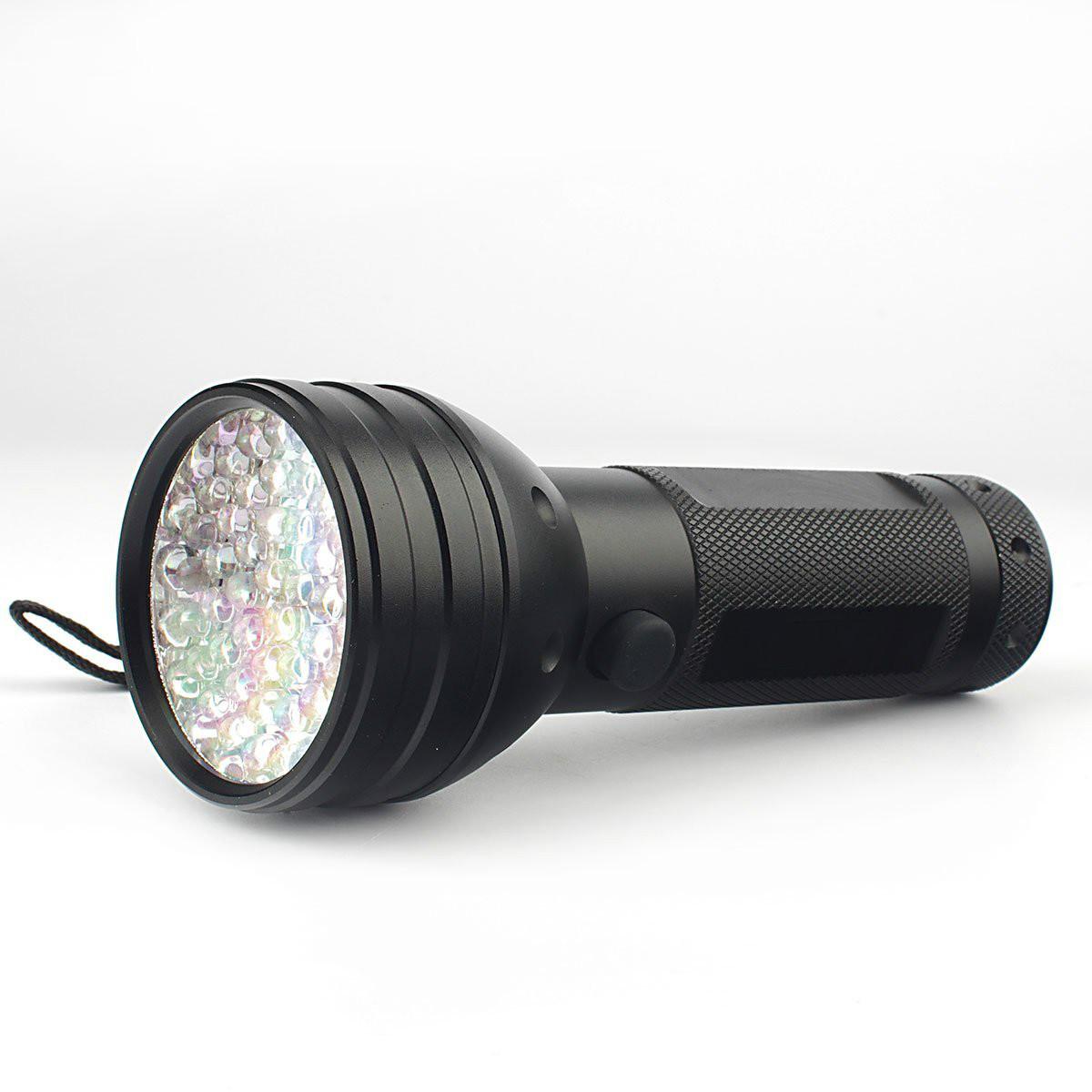 [EU Direct] EastVita® 395 nM 51 UV Ultraviolet LED flashlight Blacklight 3 AA Battery