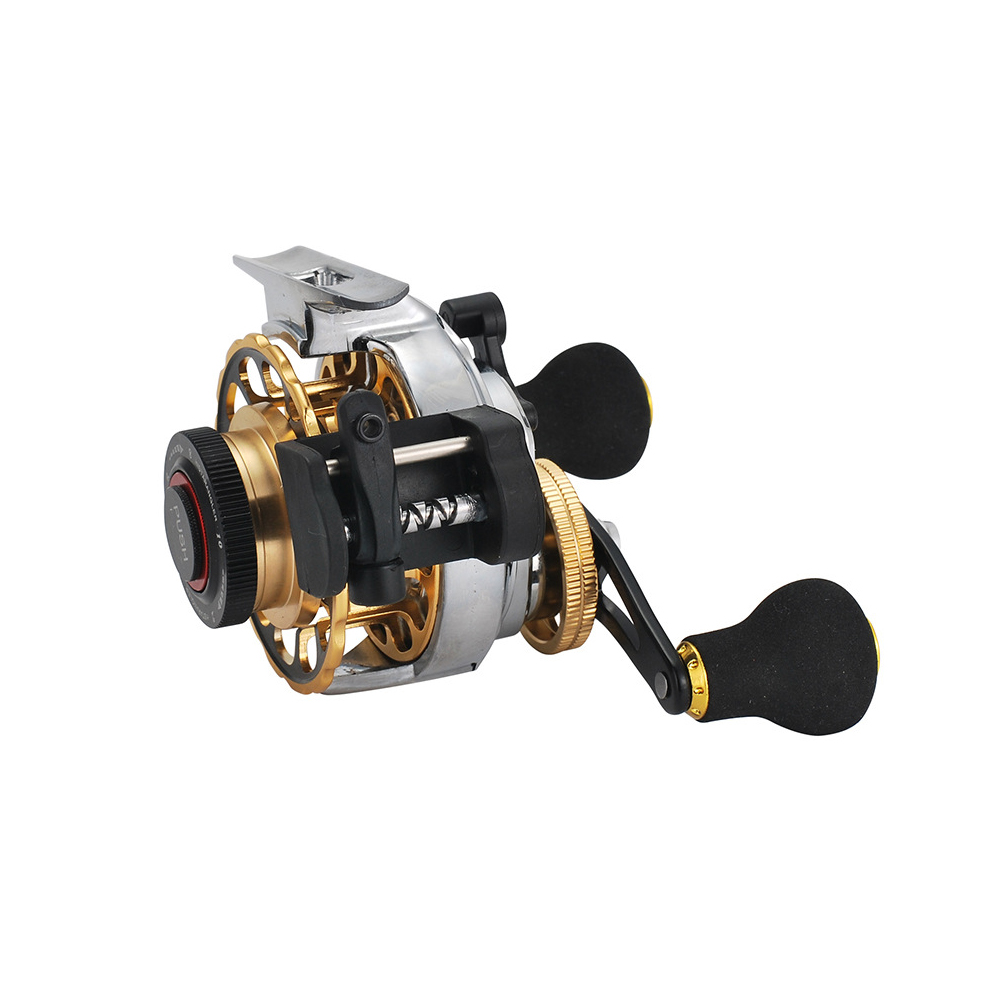 Antomatic Wire Out Raft Fishing Magnet One Button Reset with Discharge Force Micro Lead Reel ZL right hand