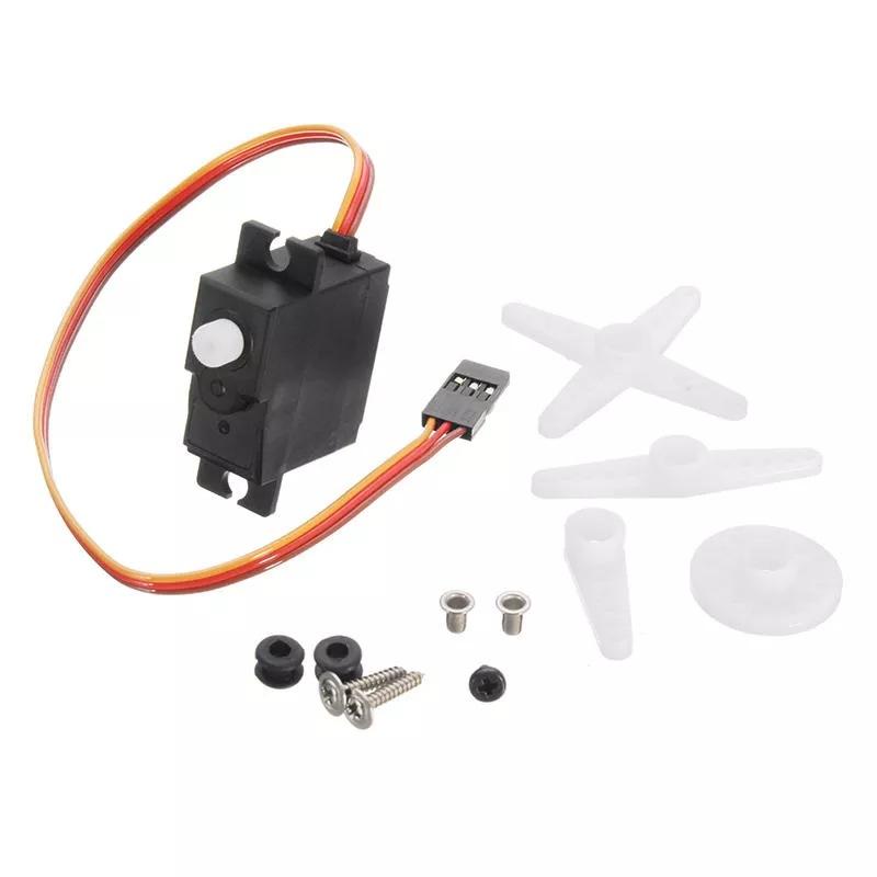 WPL D12 Metal OP Accessaries Diy Upgrade Rc Off Road Car Model Spare 17g steering gear_1:16