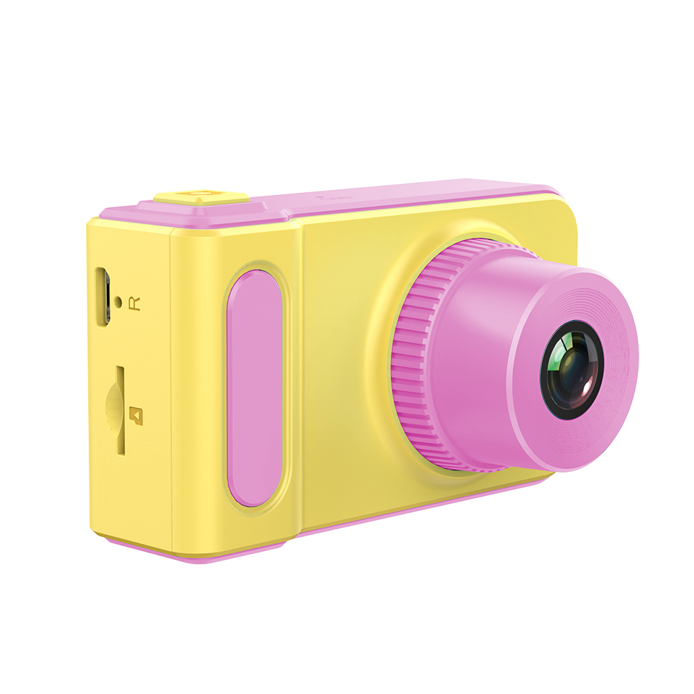 Kids Camera Educational Mini Digital Photo Camera Photography Toy for Children Pink