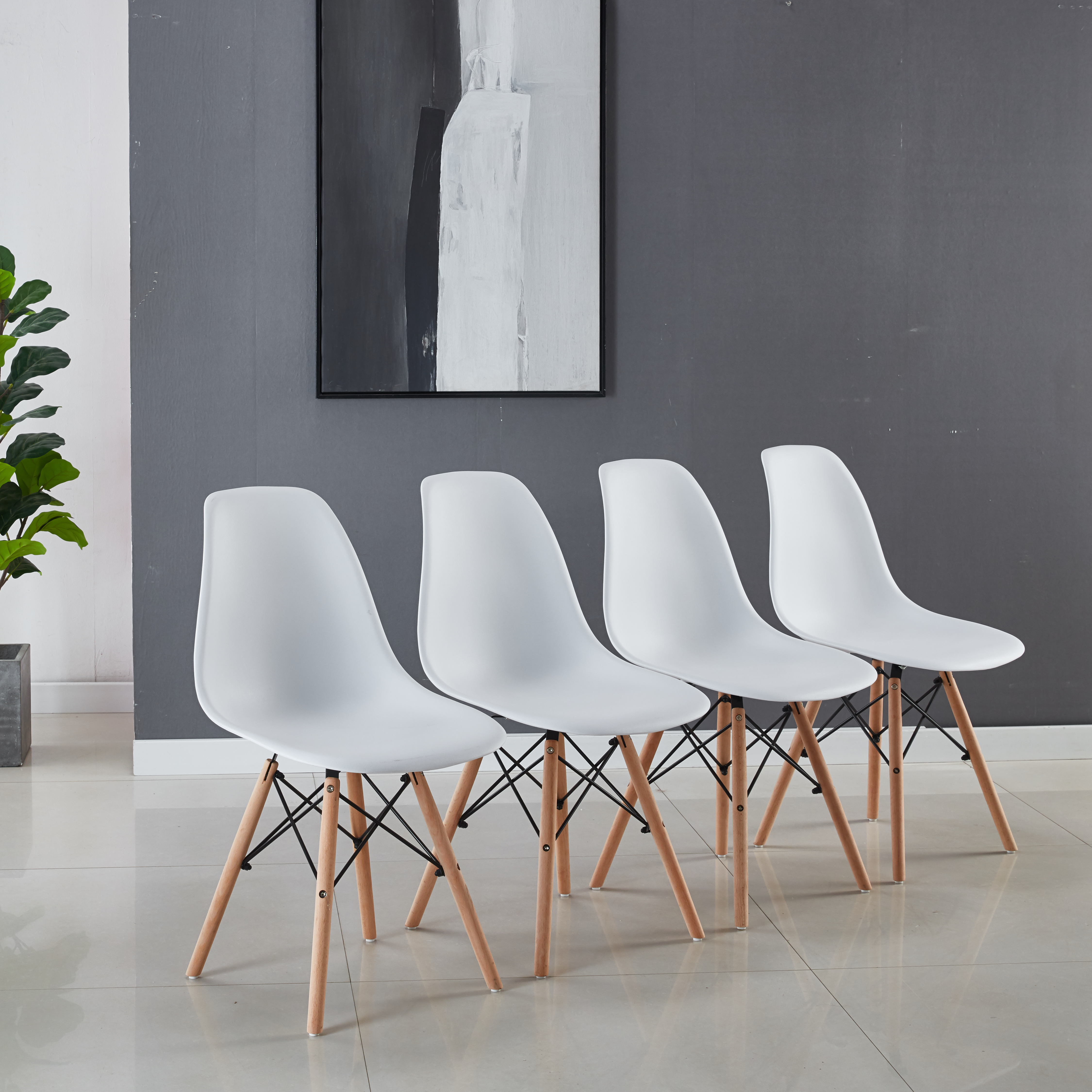 [US Direct] chair,set of 4