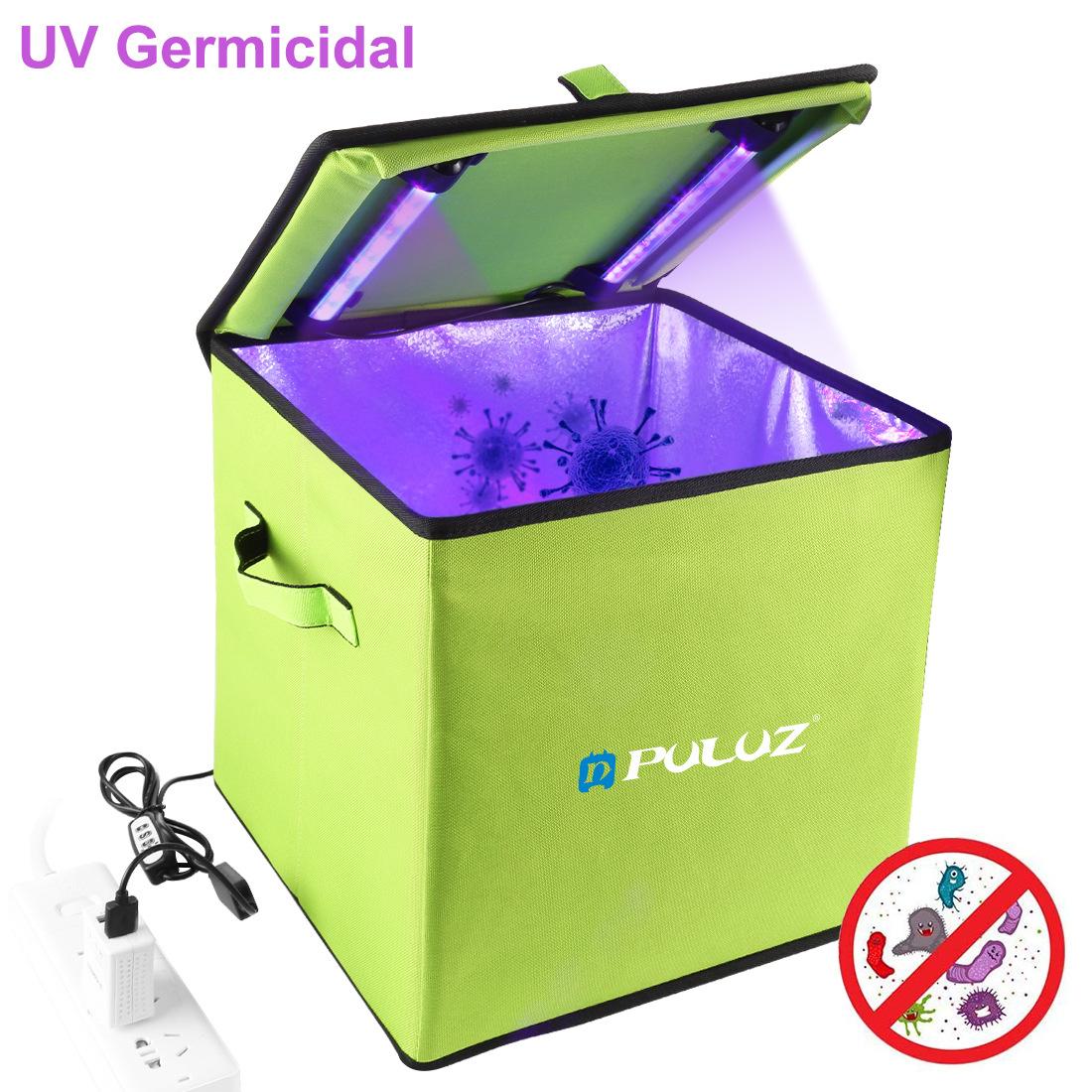 PULUZ 30cm UV Light Germicidal Sterilizer Disinfection Tent Box  green