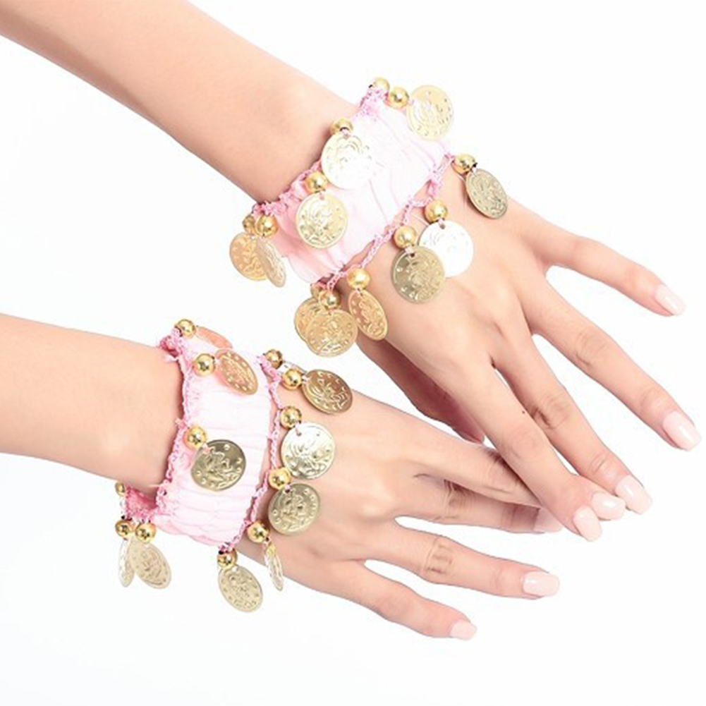 Dance Band Belly Dance Super Loud Performance Bracelet Ankle Chain Indian Dance Performance Accessories (single)