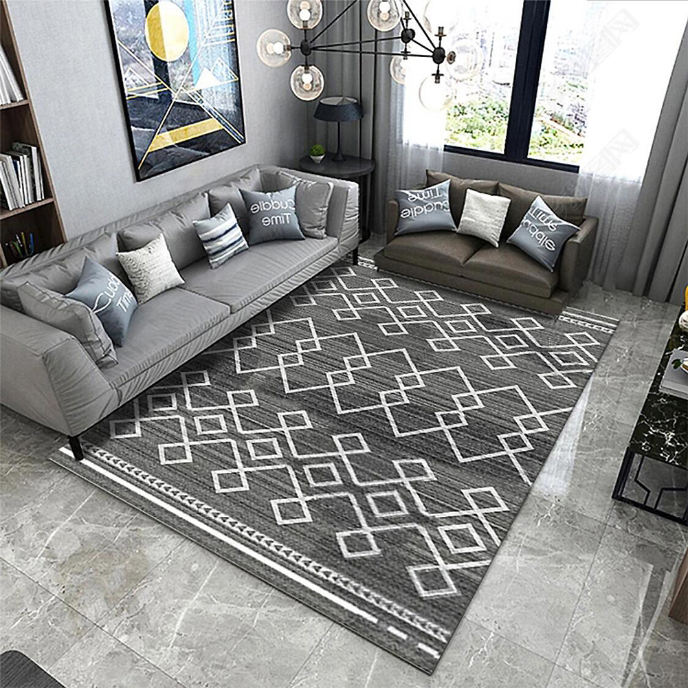 Nordic Style Floor Mat Carpet for Living Room Home Decoration Accessories 26#_100*160CM
