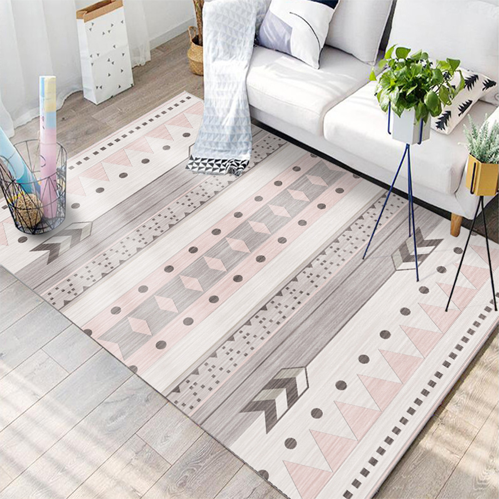 Nordic Style Floor Mat Carpet for Living Room Home Decoration Accessories 24#_100*160CM