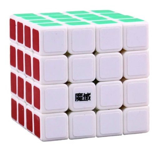 [US Direct] Qiyun New Structure 4x4 Speed Cube White