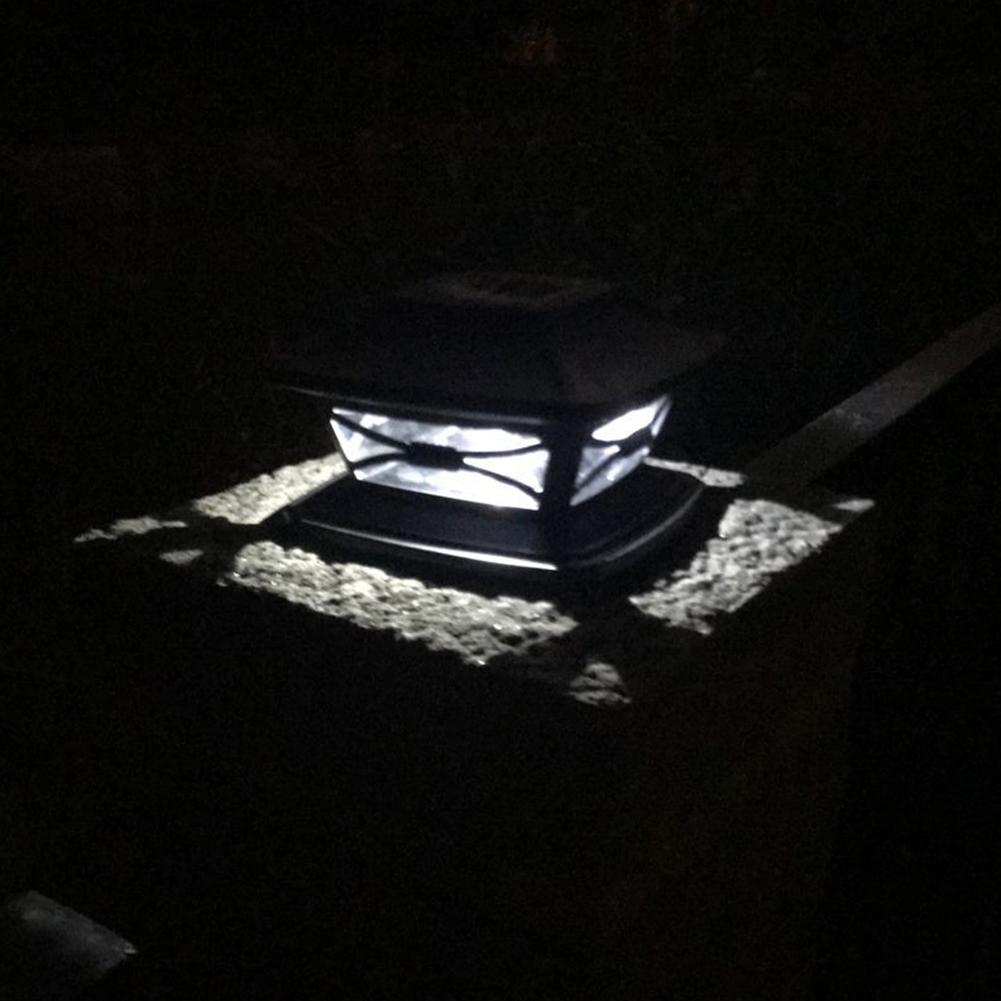 Outdoor Solar Post Light Garden Decoration Light Wood Post Light Energia Solar Garden Lamp Waterproof White light