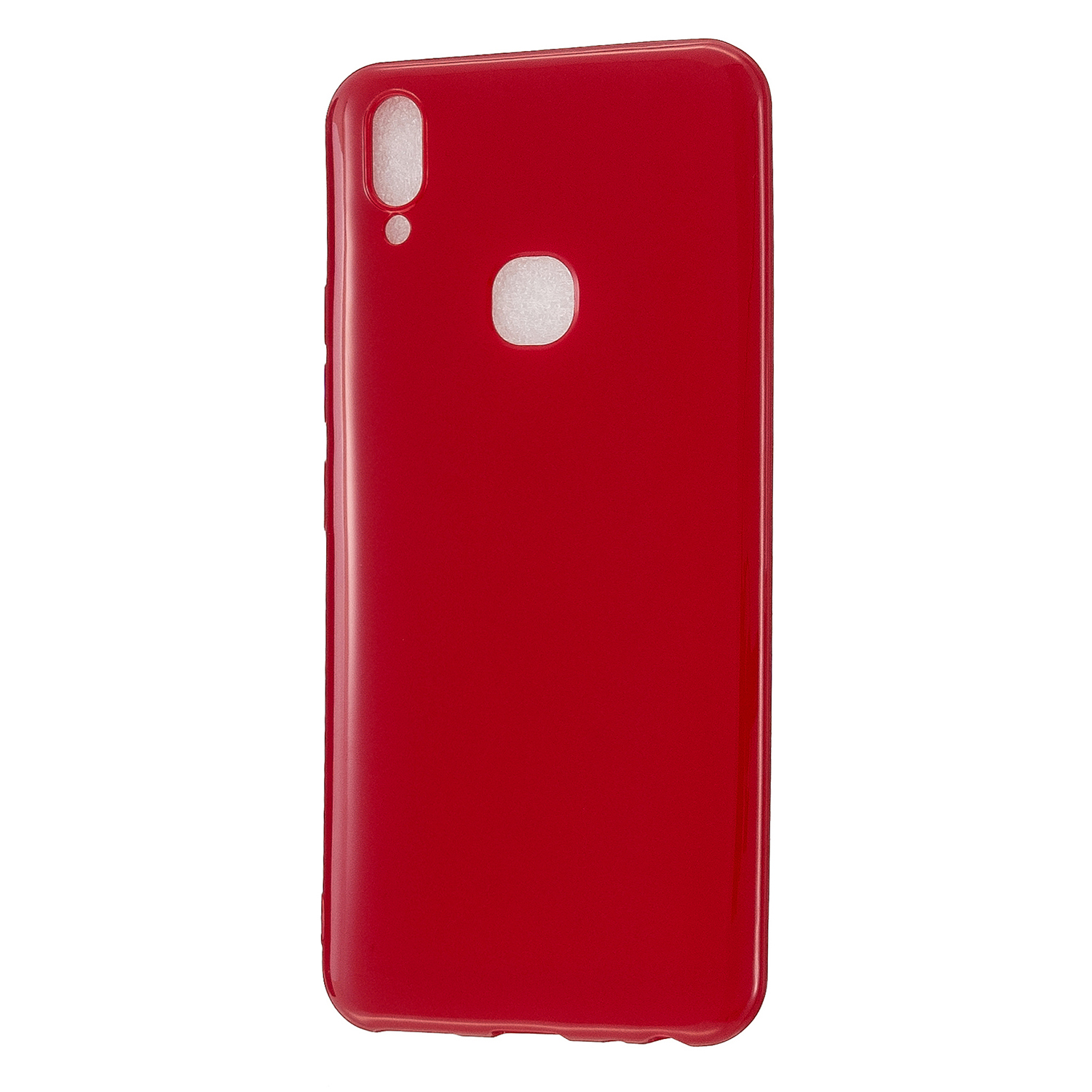 For VIVO Y83/Y85 Cellphone Cover Phone Screen Protector Soft TPU Phone Case Full Body Protection Shell Rose red