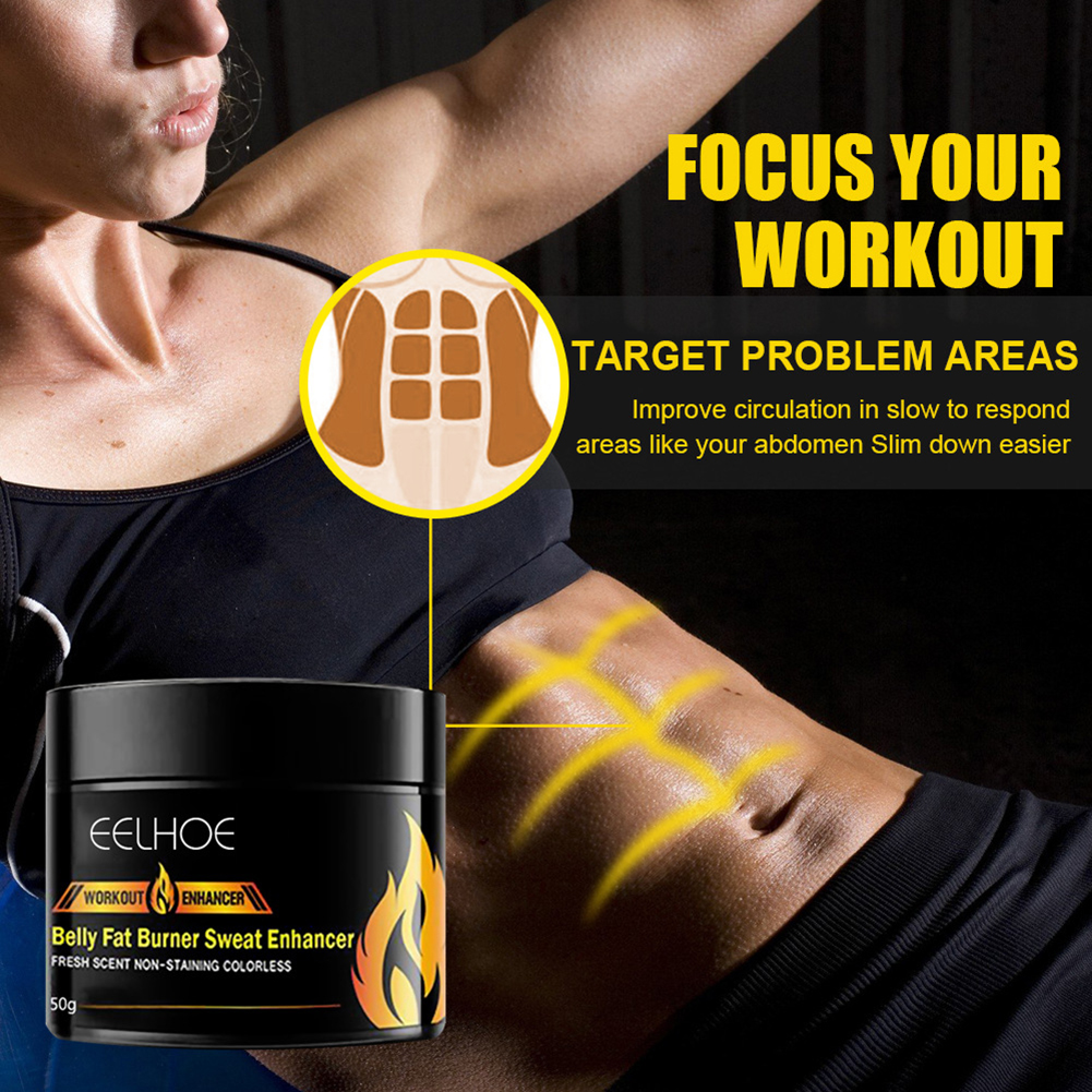 Abdominal Muscle Cream Anti Cellulite Slimming Fat Burning Cream Body Firming Strengthening Belly Muscle Cream
