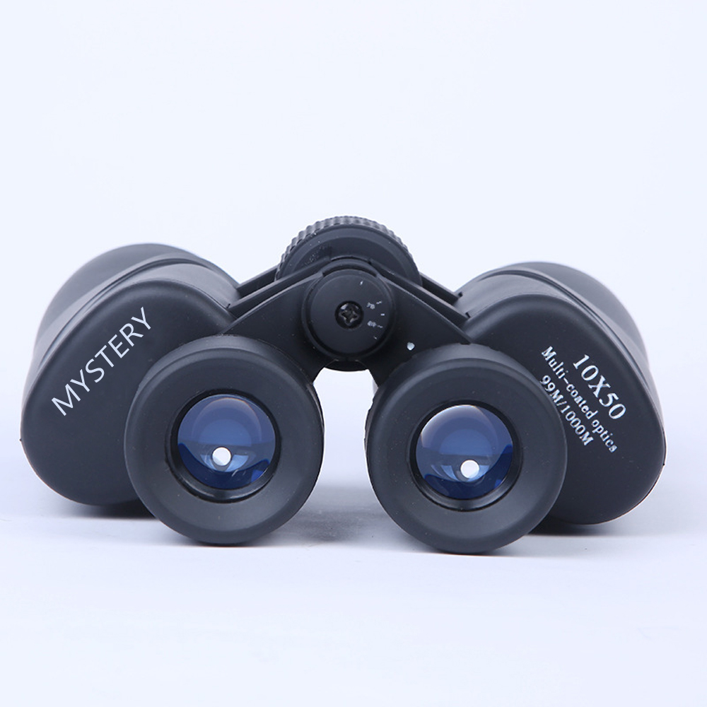 10x50 HD Binoculars Waterproof Telescope Wide Angle Coated Optical Hiking Camping 1000m black