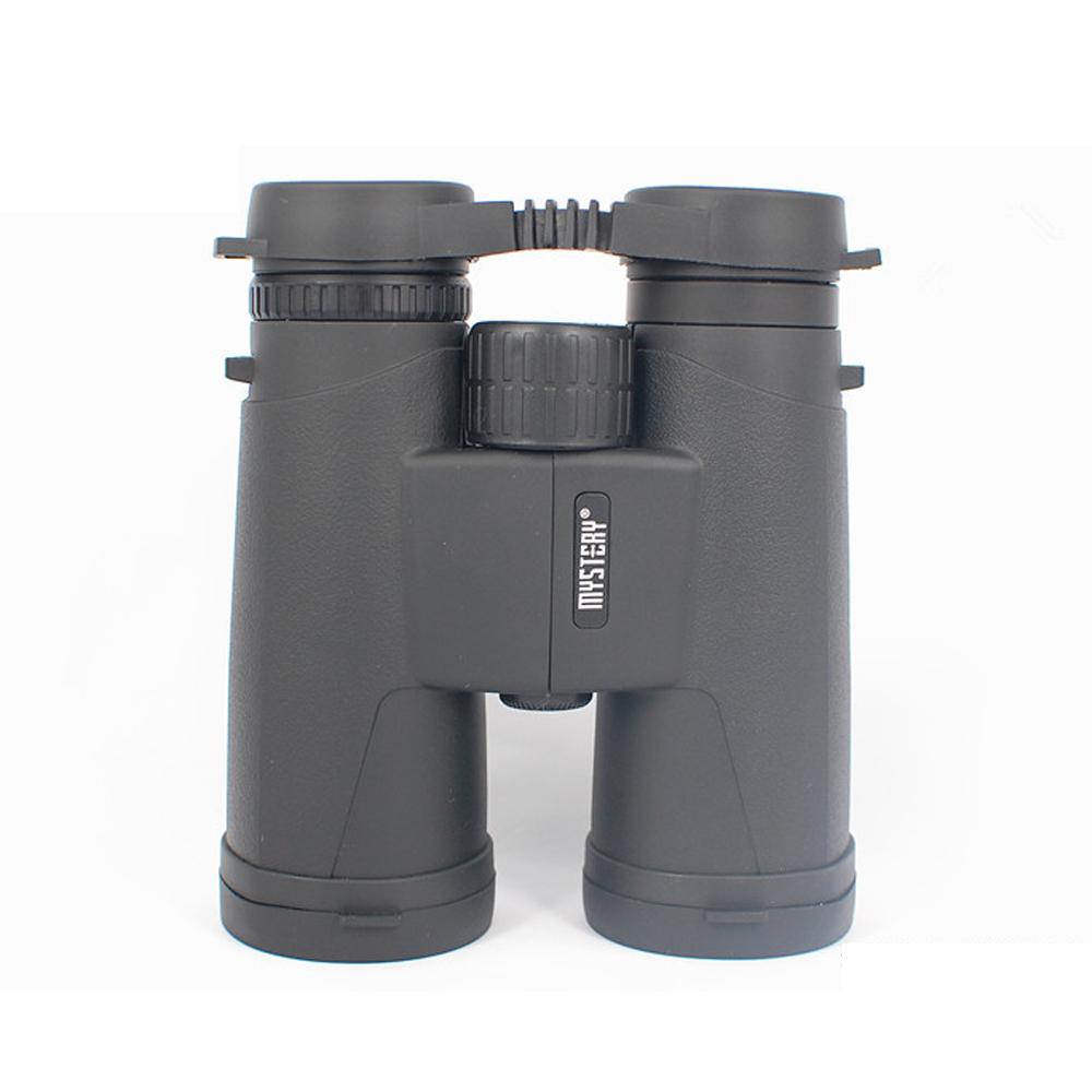 10X42 Mini Foldable HD Binoculars Waterproof Telescope Powerful BAK4 Hiking Camping black