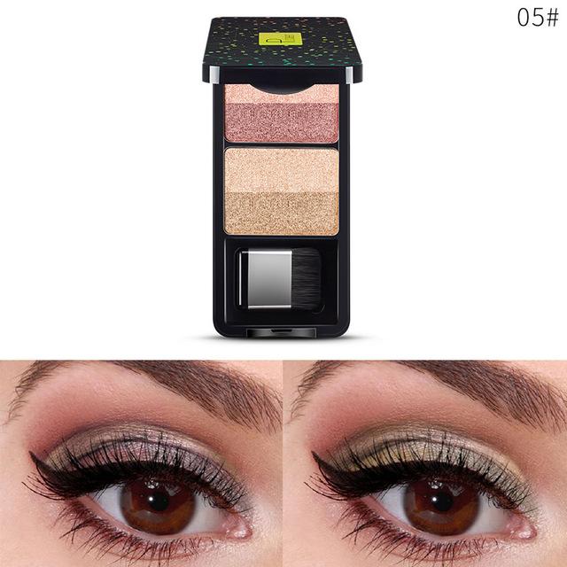 Women Eye Shadow Palette Shimmer Gradient Eyeshadow Palette Makeup Tool