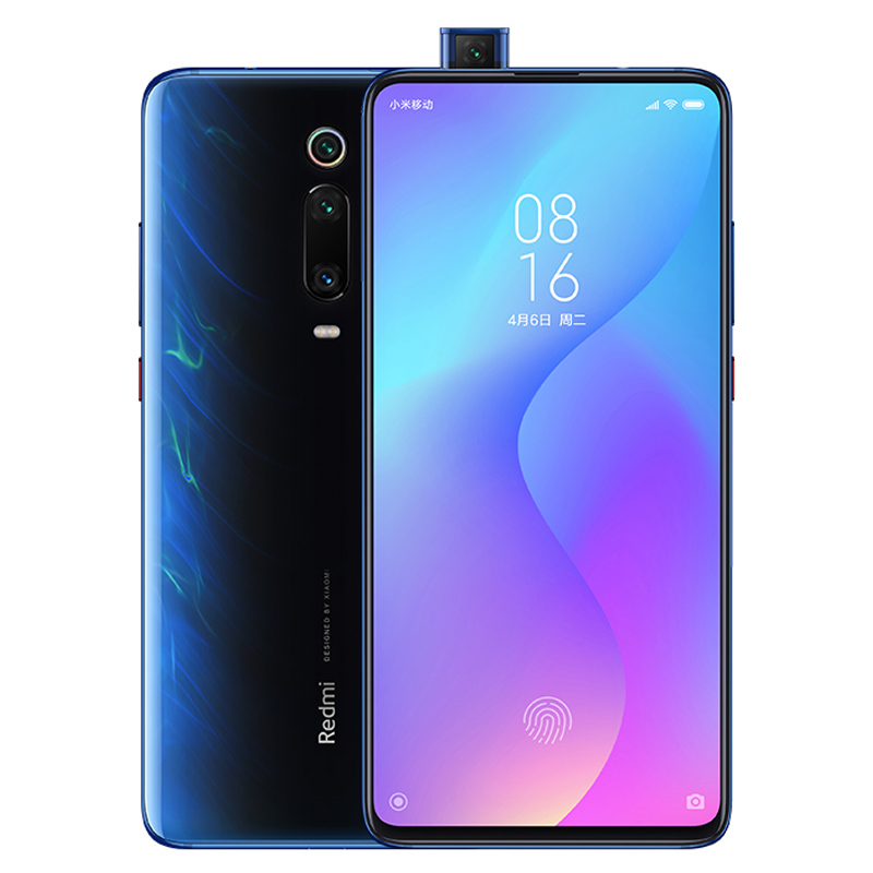 Xiaomi Redmi K20 Snapdragon 730 Octa Core 6.39'' AMOLED Screen 48MP Cameras 4000mAh Glacier blue_8+256G