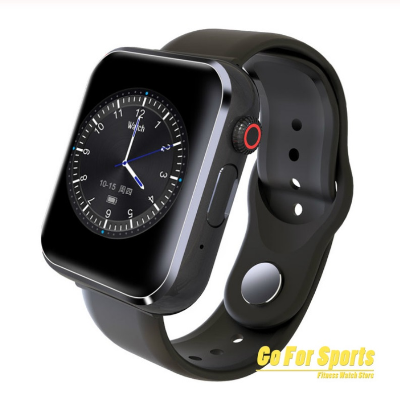Bluetooth Smart Phone Watch SIM Card Camera Music Player Pedometer Fitness Watch for IOS Android  black