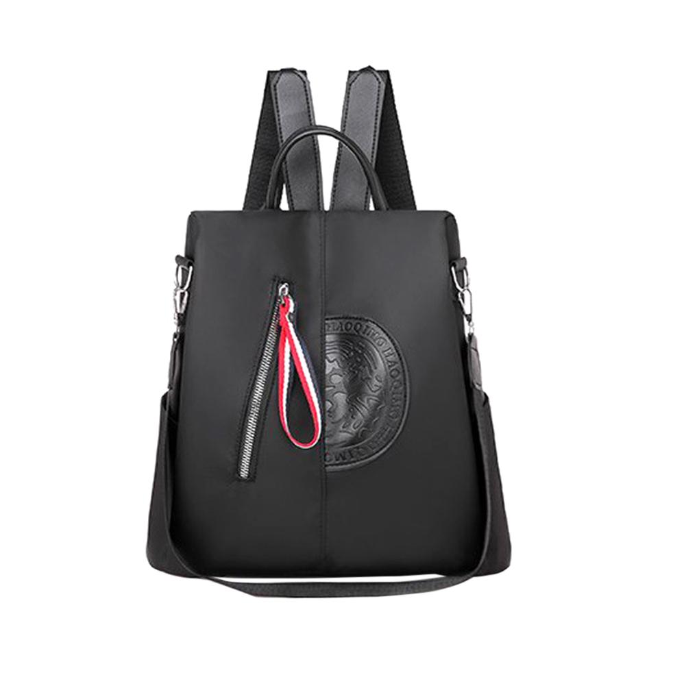 Women Summer Popular Advanced Pouch Backpack Fashion Shoulder Bags  School Backpack  black