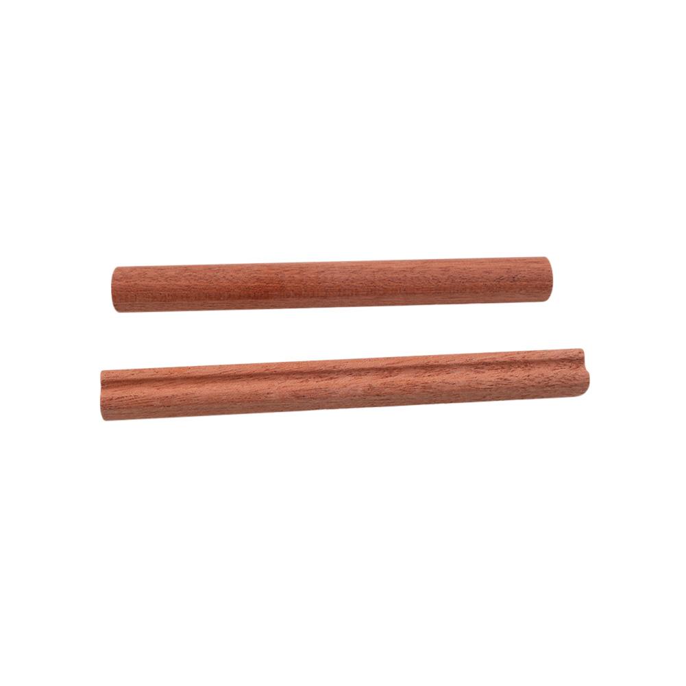 Kalimba Wooden Bridge Nuts 17 Keys Kalimba Thumb Finger Piano Nut Musical Instrument Part Accessories Wood color