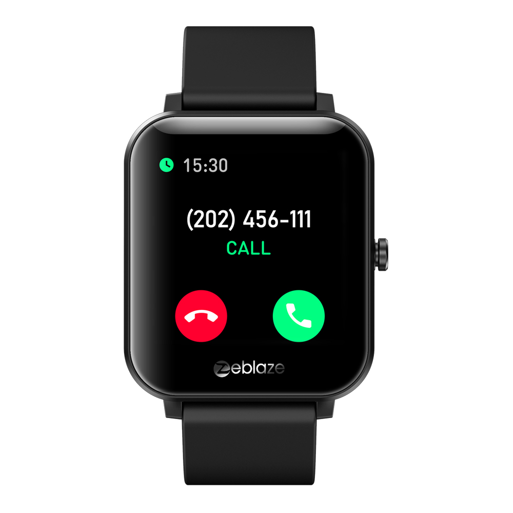 Gts Smart Watch Silicone Dual-band Bluetooth Call Heart Rate Blood Pressure Blood Oxygen Monitoring Smart Bracelet black