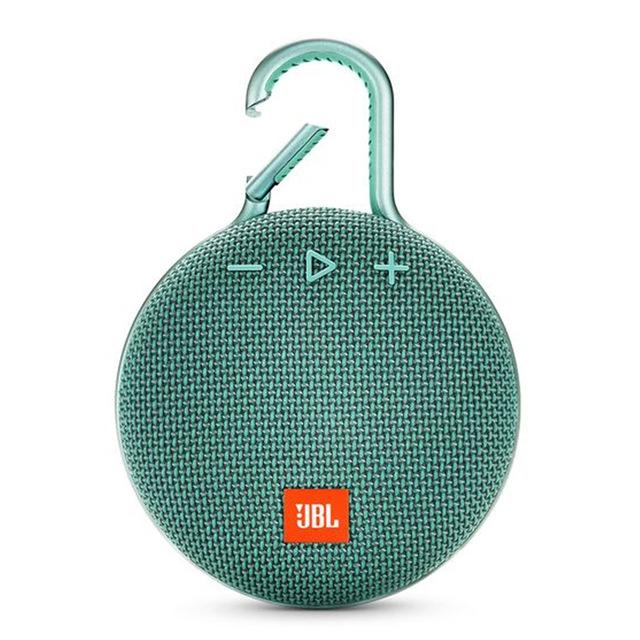 JBL Clip3 Speaker Wireless Portable Bluetooth Streaming IPX7 Waterproof 1000mAh Rechargeable Mini Portable Loudspeaker green
