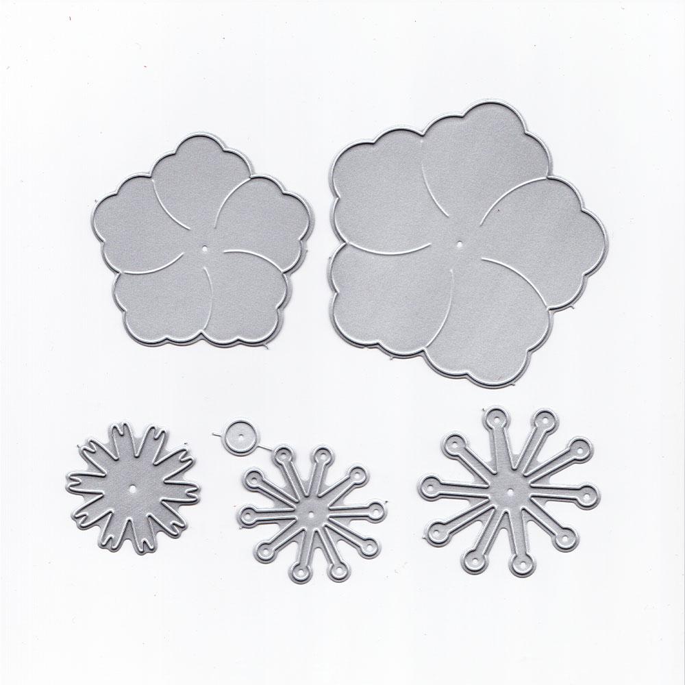 New 2018 Flower Die Cut Metal Scrapbooking Die Party Decoration Greeting Card Accessories