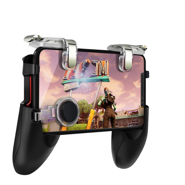 For PUBG Game Gamepad Mobile Phone Game Controller L1R1 Shooter Trigger Fire Button for Knives Out As shown