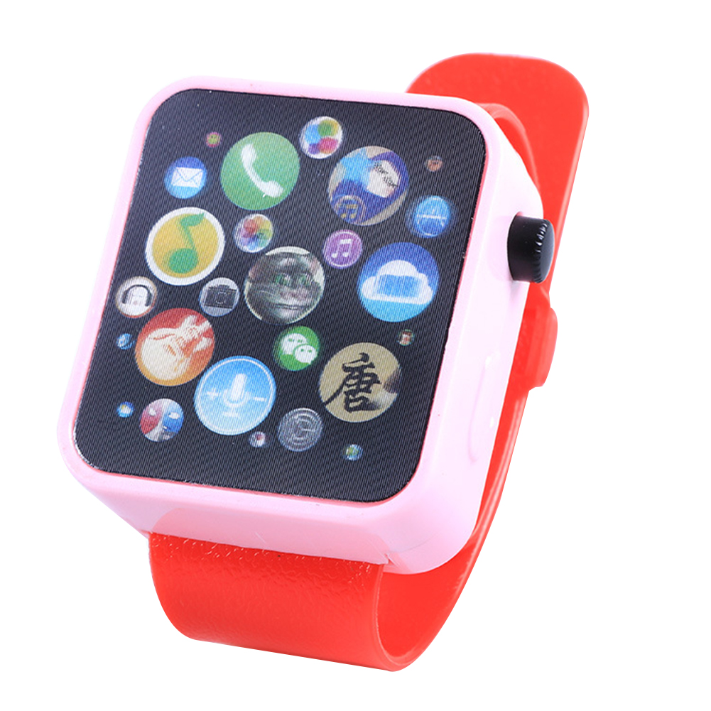 [Indonesia Direct] Children Multi-function Toy Watch Touch Screen Smartwatch Wristwatch for Early Education