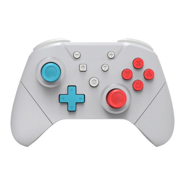 Wireless Gamepad For Nintend Switch Pro Controller have NFC Turbo 6-Axis Doublemotor 3D Game Joysticks white