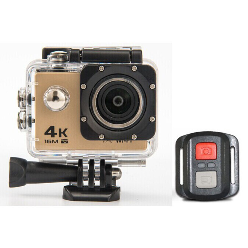 HD 4K WIFI Action Camera Gold