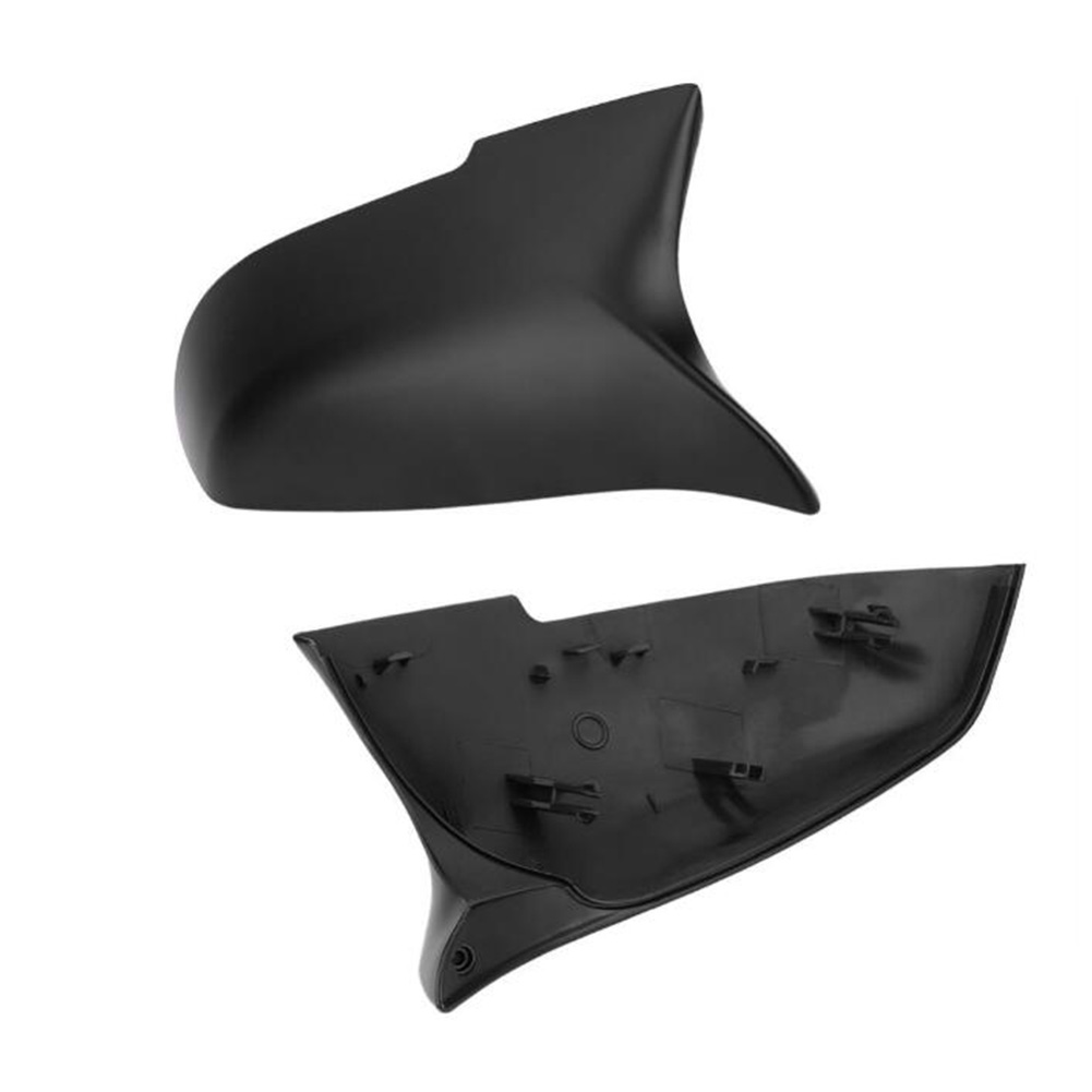 Outer Rearview Mirror Housing Horn Rearview Mirror Cover for BMW F20 F21  F87 M2 F23 F30 F36 X1 E84 OE:51162222543/51162222544 matte Black