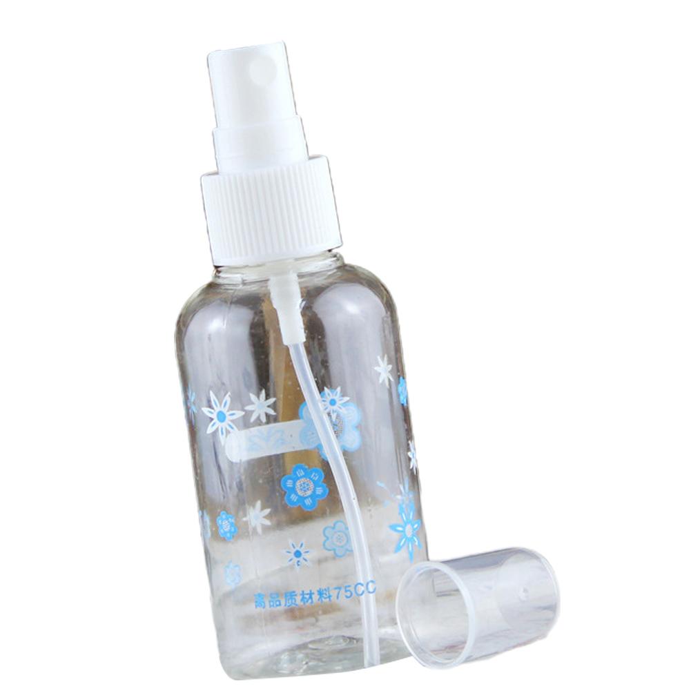 75ml Spray Bottle Transparent Press Sprayer for Pet Disinfectant Cosmetics 75ml