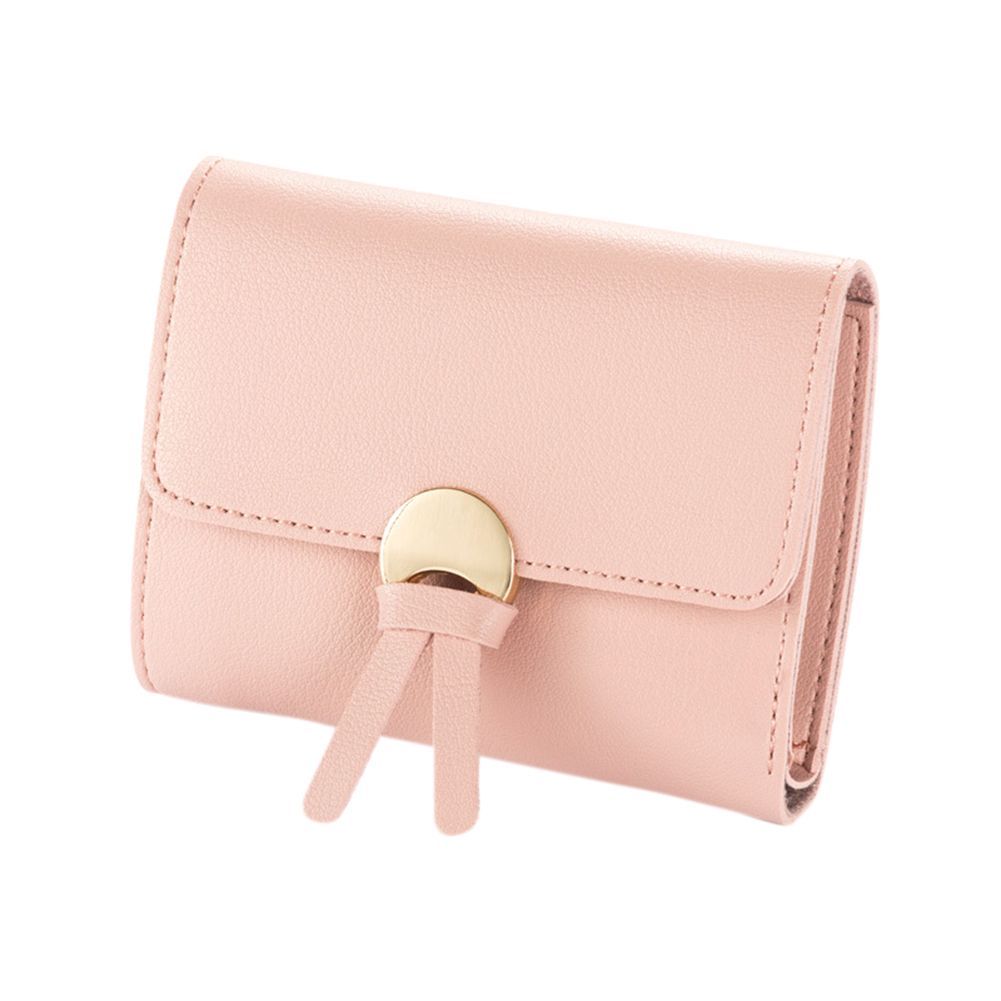 Women PU Leather Coin Mini Wallet Card Holder Tassel Purse Clutch Handbag