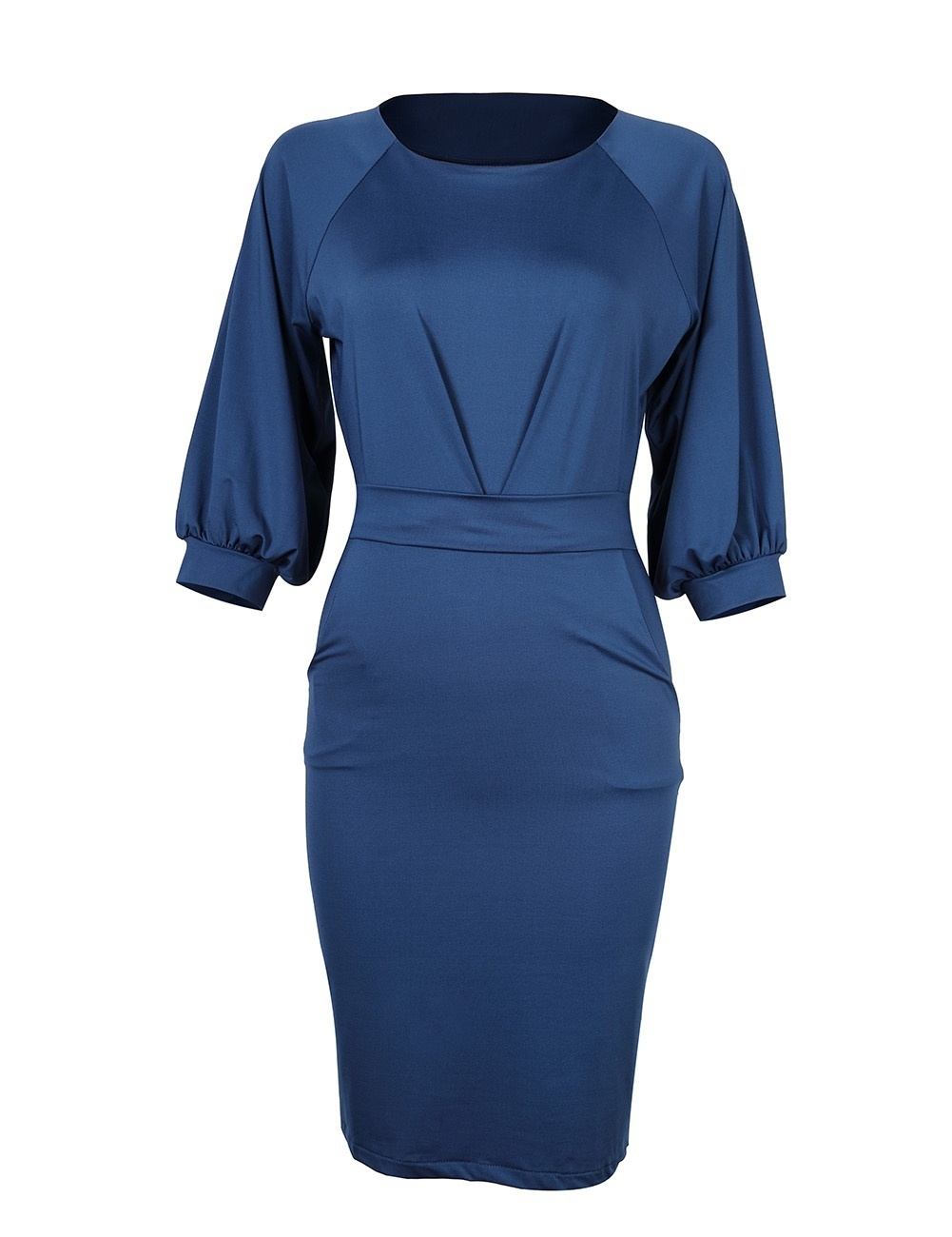 Women's Casual Solid Color Work Dress