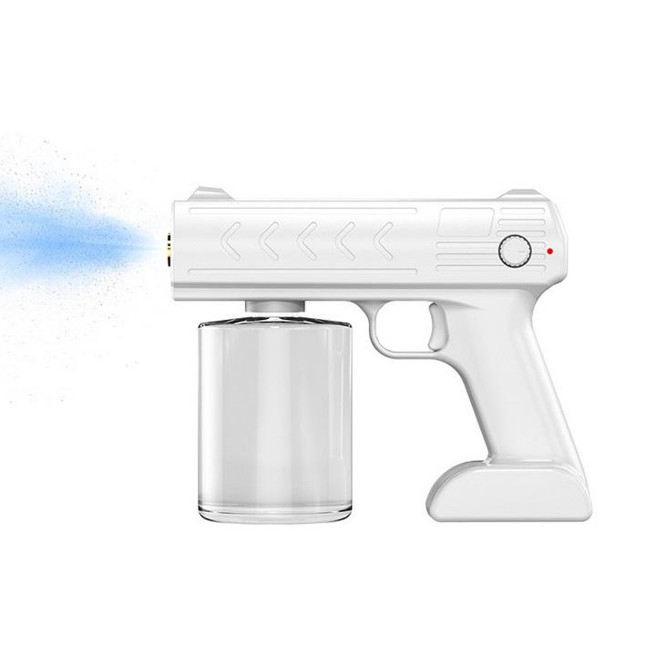 Blue Disinfection Sprayer 1200 Mah Ultra Long Jet Distance Spray Device White