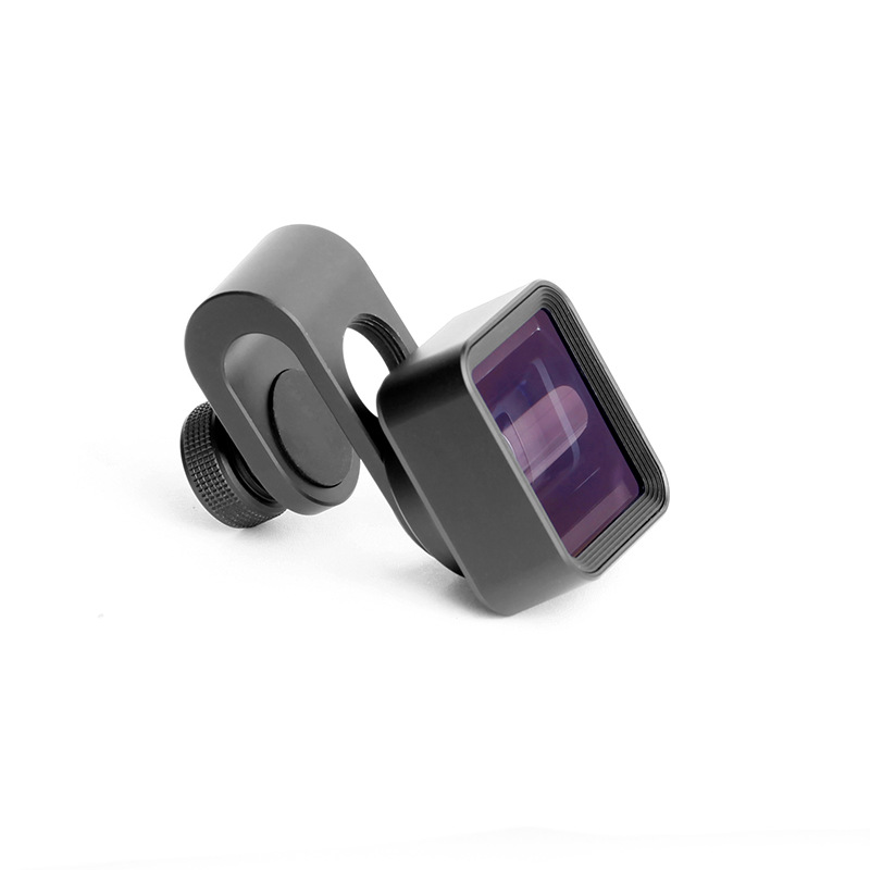 Mobile Phone 1.33X External Anamorphic Lens Movie Widescreen Shooting Lens With metal clip - fit 99% model