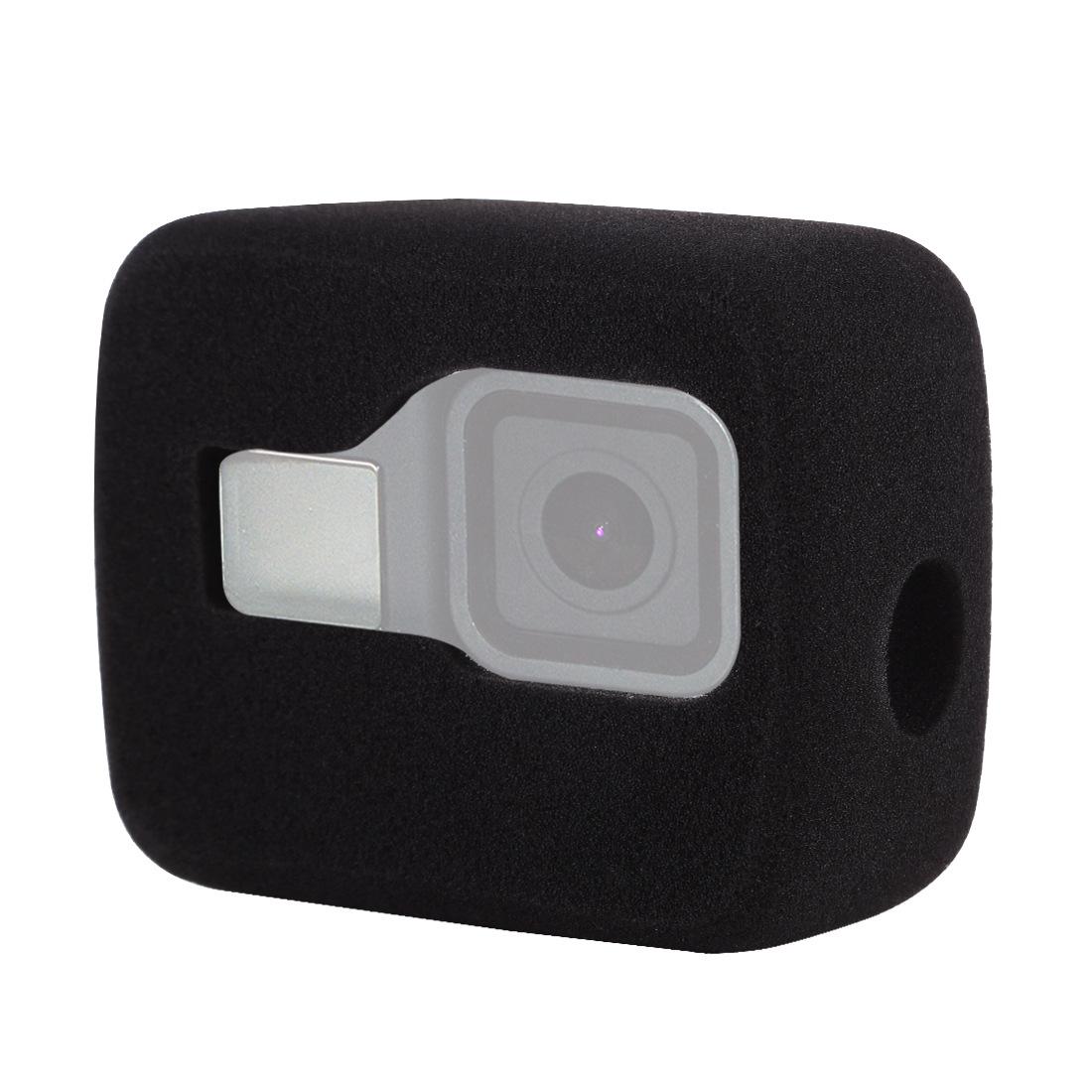 ND1000 Lens Filter for DJI Osmo Action GoPro HERO8 Black Host Windshield Noise Reduction Foam Cover black