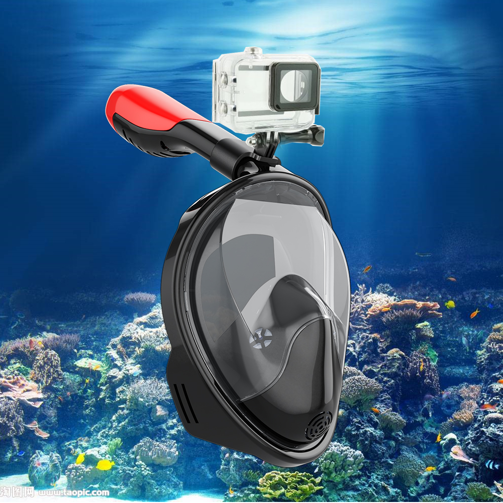 [US Direct] Snorkeling diving mask