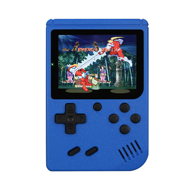 Multicolor Game Players 400-in-1 Game Consoles Handheld Portable Retro Tv Video Game Console blue