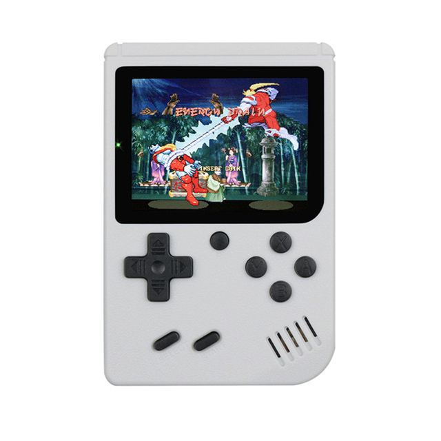 Multicolor Game Players 400-in-1 Game Consoles Handheld Portable Retro Tv Video Game Console white