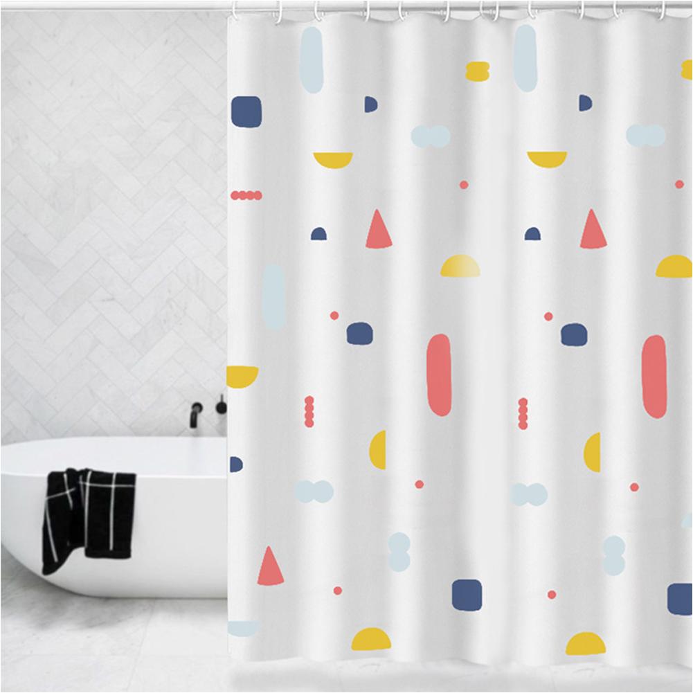 Waterproof Shower Curtains Bath Screen Printed Curtain for Bathroom