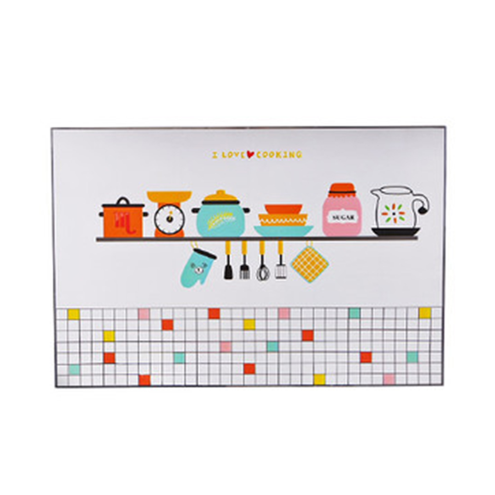 Waterproof Oil Proof Self Adhesive Wall Sticker Temperature Resistant Wallpaper for Kitchen B-kitchen