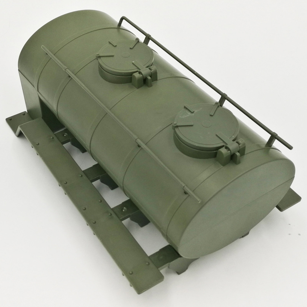 Remote Control Accessory Simulation Oil Transport Tank DIY Parts Model for WPL B-24 B-16  Ural Radio ArmyGreen