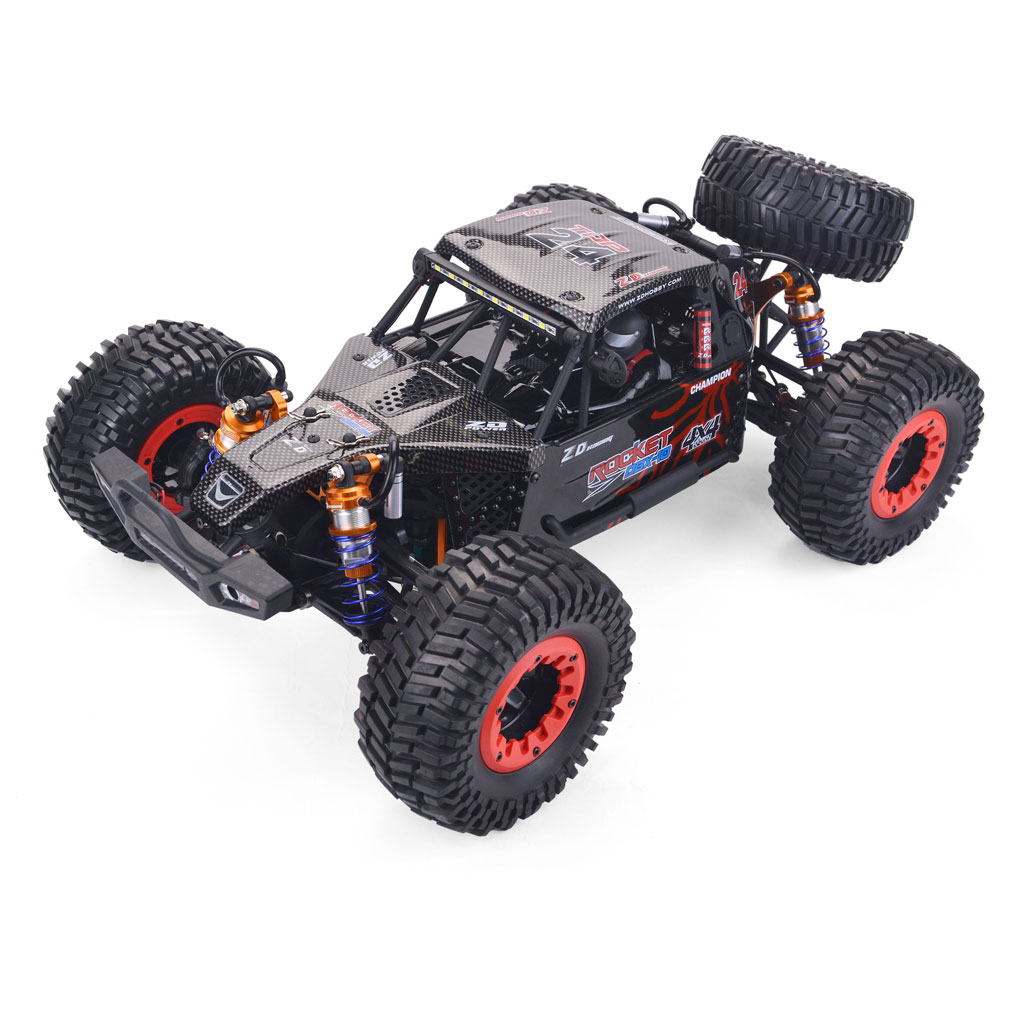 ZD Racing DBX 10 1/10 4WD 2.4G Desert Truck Brushless RC Car High Speed Off Road Vehicle Models 80km/h W/ Swing red