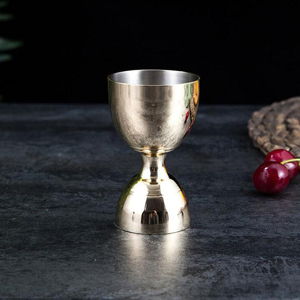 Kitchen Barware Bar Tools Bartender Oz Bar Measures Cup Imitation gold
