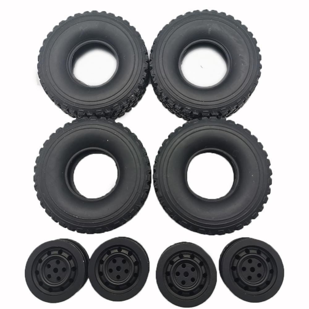 RC Car Wheel Hub for 1/16 WPL C1 C14 C24 C34 B16 B24 B36 JJRC Q60 Q61 Q63 Q65 MN 90 99 Parts black